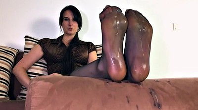 Step, Nylon feet, Nylon foot, Polish, Cum on feet