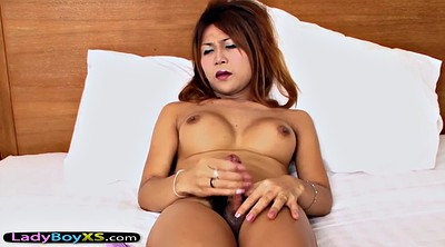 Asian solo, Shemale dildo