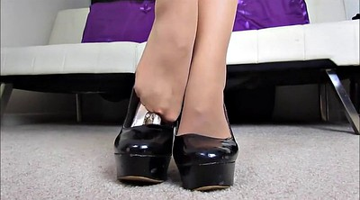 Pantyhose feet, Pantyhose foot, Feet joi