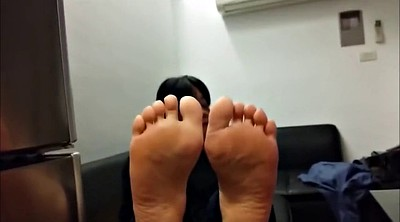 Foot, Asian mature, Sole