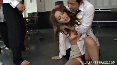 Pantyhose, Asian pantyhose, Asian gangbang, Professor, Pantyhose asian