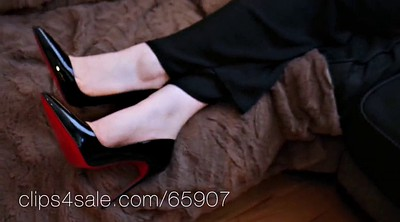 Kate, Shoeplay, Femdom feet, Shoejobs
