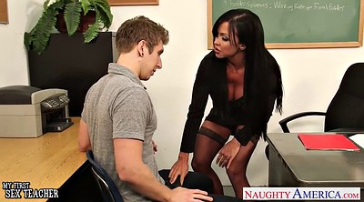 Old teacher, Stunning, Black young, Black old