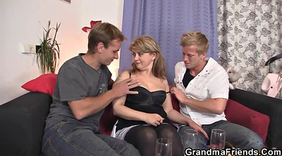 Old wife, Hot wife, Threesome mature, Granny wife