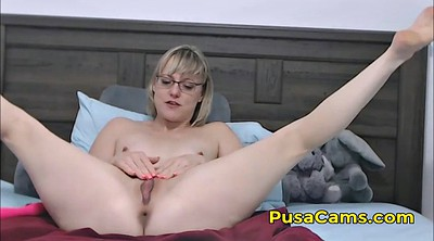 Glasses, Hot milf, Hairy pussy solo, Hairy milf solo
