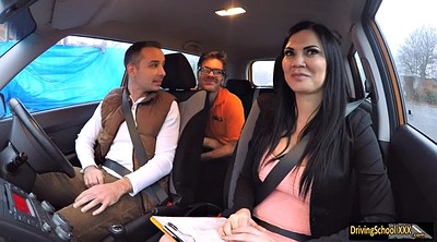 Jasmine jae, Jae, Driving, Public sex, Car sex