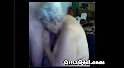Old lady, Mature handjob