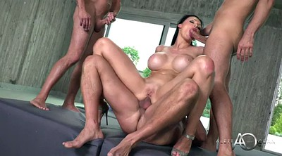 Aletta ocean, Double blowjob, Throat, Aletta, Bbw dp, Bbw double