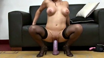 Brutal, Toys, Thick, Stockings dildos, Stocking dildo, Brutality