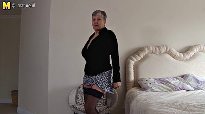 British mature, British granny