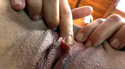Closeup, Hairy pussy, Pussy show