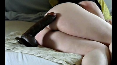 First time, Huge dildo, First time anal