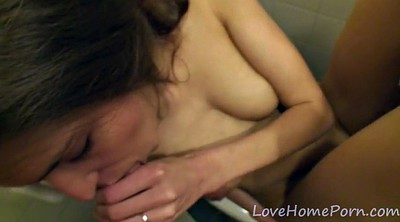 Toilet, Threesom, Toilets, Amateur threesome