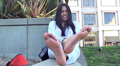 Smelly, Asian feet, Sole, Foot sole