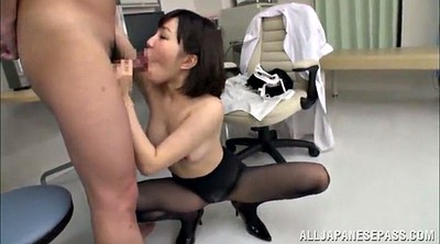 Nurse handjob, Asian heels, Pantyhose handjob, Panties handjob, Give, Asian high heels