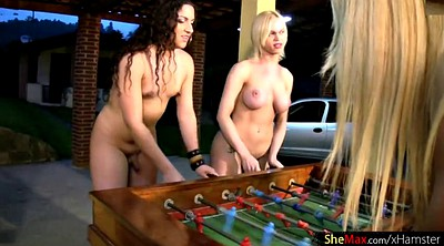 Foursome, Shemale and girl, Girl and shemale