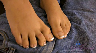 Foot job, Foot job, Pov foot