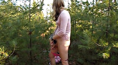 Hairy, Crossdressing, Femboy, Outdoor masturbation, Outdoors, Crossdressers