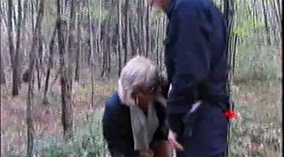 Granny anal, Mature outdoor, Granny outdoor, Forest