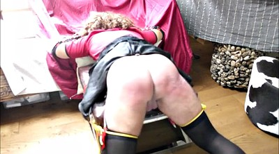 Crossdress, Hard spanking, Hard spanked, Spank hard