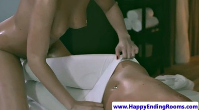 Lesbian, Massage, Oil up