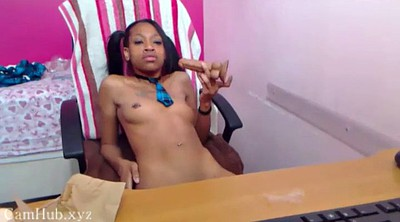 Solo cam, Ebony solo masturbation, Black on black