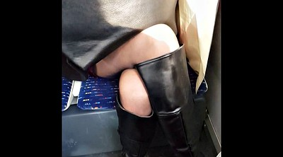 Boots, Black pantyhose, Boot