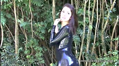 Rubber, High, Beauty solo, Vintage teen, Heels solo, High heels solo