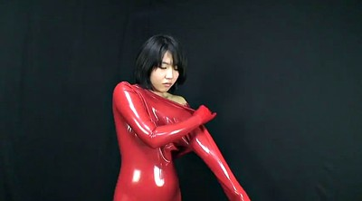 Japanese latex, Asian latex, Catsuit