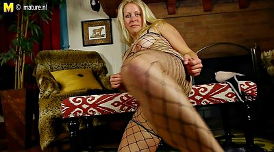 Hot mom, Blonde mature, American