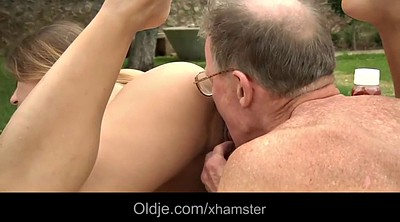 Mature blonde anal, Close up pussy