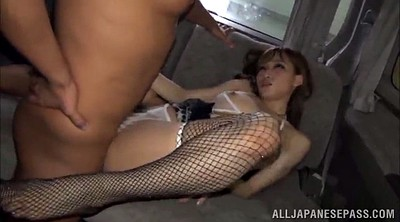 Asian foot, Fishnet, Babes, Double penetration, Foot fuck, Threesome foot