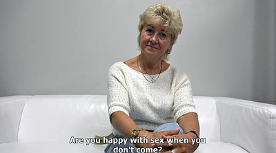 Interview, Mature casting, Casting mature