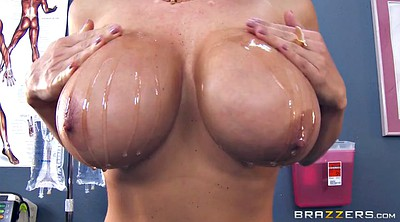 Nurse, Lisa ann, Big boobs, Close up, Ann