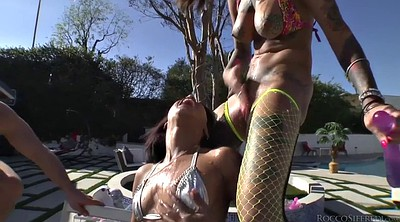 Diamond, Skin, Threesome anal