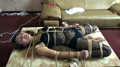 Torture, Tortured, Asian bondage, Scarf, Bondage asian