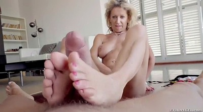 Mature feet, Bitch, France, Mature orgasm