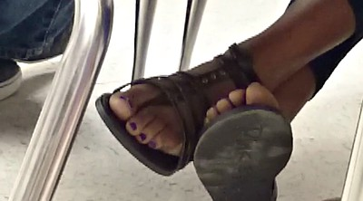 Candid, Teen feet, Toes, Candid feet, Black feet