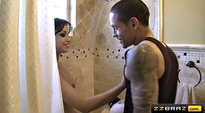 Abella anderson, Undressing, Japanese double, Anderson, Undress, Japanese shower
