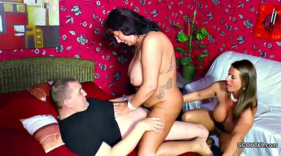 German mom, Dad mom, Old and young, Young and old, Teen old, Seducing mom