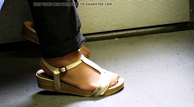 Asian granny, Nylon feet, Nylon foot, Asian foot, Asian feet, Pantyhose feet
