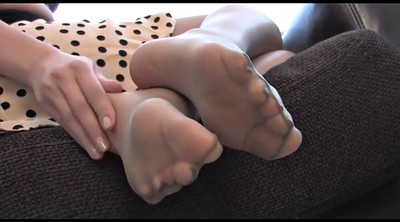 Nylon, Nylon feet, Nylon foot, Nylons, Footing