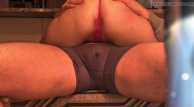 Wide open, Spread, Humping, Hard spank, Spanking ass, Hard spanking