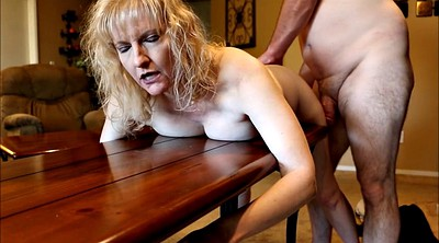 Wife spanked, Mature dildo