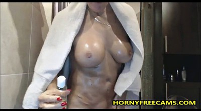 Shower, Busty matures