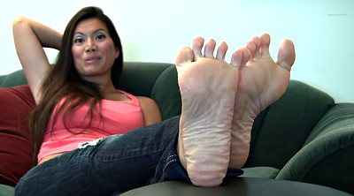 Asian foot, Sole, Foot fetish