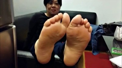 Foot, Mature foot, Mature feet, Asian foot