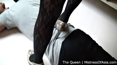 Mistress, Asian femdom, Bdsm slave, Heels worship, Asian slave, Feet slave