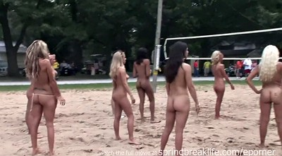 Volleyball, Naked public