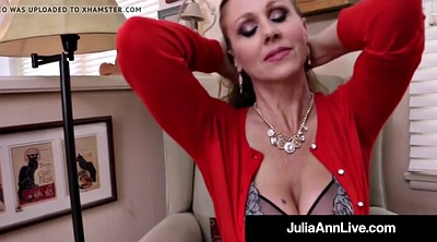 Mature, Julia ann, Anne, Mature cougar, Mature dildo, Hot milf big tits